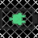 Charging Plug Battery Icon