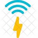 Inductive Charging Sign Icon
