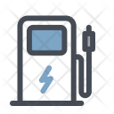 Charging Electromobile Service Icon