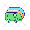 Bus Depot Charging Icon
