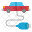 Car Charge Internet Icon