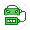 Charging Car Battery Icon