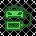 Charging Car Battery Car Battery Charging Battery Icon