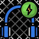 Charging Headphone Icon