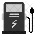 Charge Electric Fuel Icon