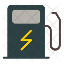 Station Electric Charger Icon