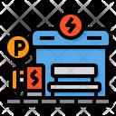 Charging Station Charging Plug Station Icon