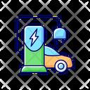 Maintenance Equipment Installation Icon