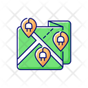 Stations Map Installation Icon