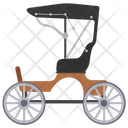 Chariot Vintage Transport Medieval Carriage Icon