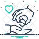 Charitable Eclectic Gracious Icon