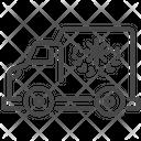 Charities Truck Charities Truck Icon