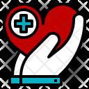 Charity Health Healthcare Icon