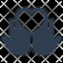 Charity Donation Heart Icon