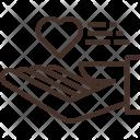 Charity Love Heart Icon