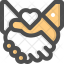 Charity Handshake Help Icon