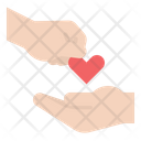 Donation Charity Heart Icon