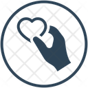 Charity Giving Heart Icon