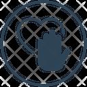 Charity Hand Heart Icon