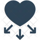 Charity Crowdfunding Donation Icon