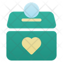 Charity Box Donation Box Money Icon