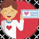 Man Help Heart Icon