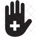 Healthcare Charity Hand Icon