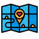 Maps Charity Location Icon