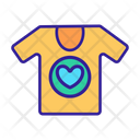 Charity T Shirt Icon