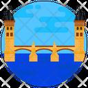 Charles Bridge Arch Bridge Footbridge Icon