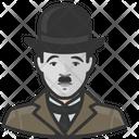 Charlie Chaplin Avatar User Icon