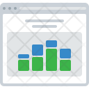 Chart Data Analytics Icon