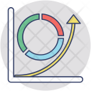 Costs Revenues Chart Icon