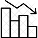 Bar Chart Descending Icon
