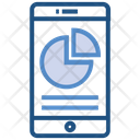 Mobile Chart Business Icon
