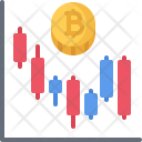Chart Bitcoin Coin Icon