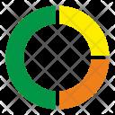 Circle Diagramm Statistics Icon