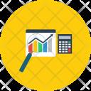 Mathematic Chart Concept Icon