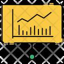 Chart Graph Rising Icon