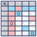 Chart Table Numbers Icon