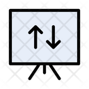Chart Board Arrow Icon
