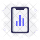 Mobile Chart Statistics Icon