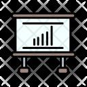 Chart Analytics Report Icon
