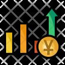 Chart Money Yuan Icon