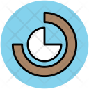 Chart Doughnut Infographic Icon