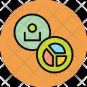 Chart User Employee Icon