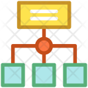 Chart Hierarchy Networking Icon