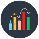Data Analytics Chart Analysis Graph Analysis Icon
