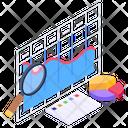 Data Analysis Chart Analysis Business Analysis Icon