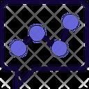 Analytics Chat Icon